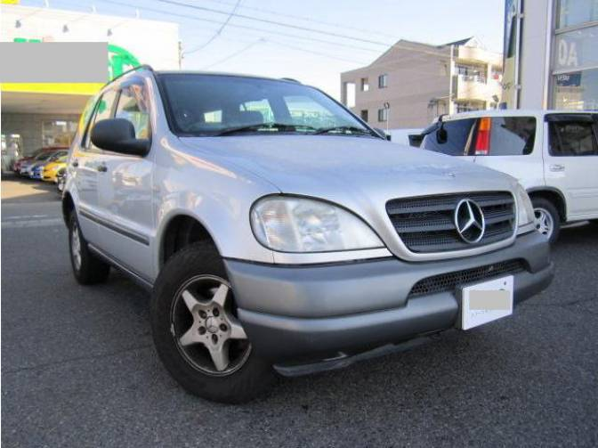 1998 mercedes benz ml320 163154 ml320 for sale japanese for 1998 mercedes benz ml320