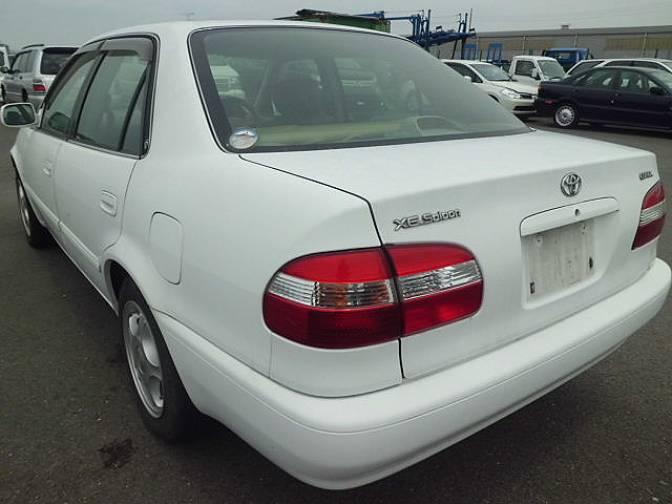 1997 Toyota Corolla Ee111 Xe Saloon For Sale Japanese