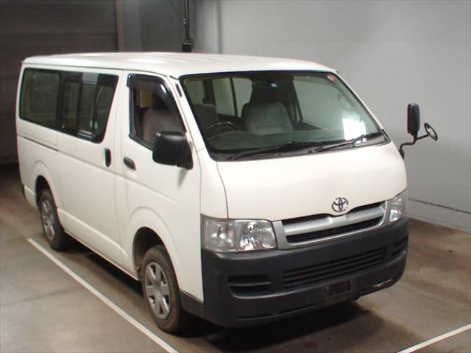 2006 4 toyota hiace van kdh200 dx long for sale japanese used cars details carpricenet. Black Bedroom Furniture Sets. Home Design Ideas