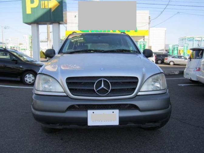 1998 mercedes benz ml320 163154 ml320 for sale japanese for Mercedes benz c service cost