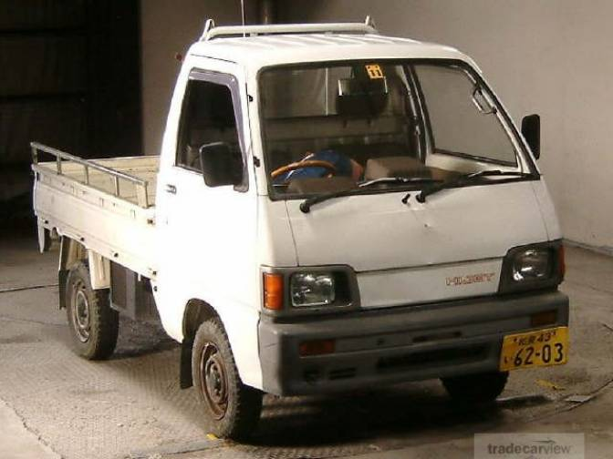 1991 Daihatsu Hijet Truck S82P X For Sale, Japanese Used